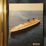 Cunard: Queen Elizabeth Card #1 Newer Style