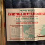 USL: SS United States 1969 Christmas-NYE Cruise Rate folder : Never happened