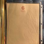 French Line: SS Ile De France Writing Sheet Large.
