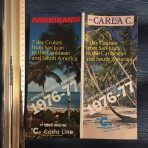 Costa Line: Carla C and Amerikanis 1976-77 Flyer.