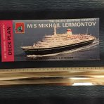Baltic Shipping Company: Mikhal Lermontov Deck Plan