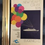 Costa Line: 1978 Eugenio C New Year's Eve Cruise Brochure in English