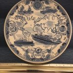 HAL: Millennium 2000 Cruise Delft Plate