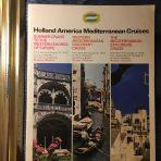 HAL: 3 Mediterranean Cruises 1973.