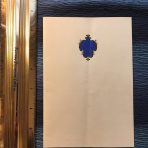 French Line: Ile De France Dinner Menu 1935