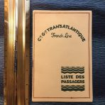 French Line: SS France Second Mediterranean Cruise Passenger List