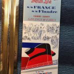 French Line: Sailing sand Fares 66/67 Number 11