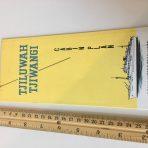 Royal Interocean Lines: Tjiluwah Tjiwangi Deck Plan Fold Out 1966
