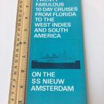 HAL: Nieuw Amsterdam 20-10 Day Cruises Folder