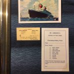 United States Lines: SS America Paper set