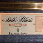 Clipper Line: Stella Polaris Color Deck Plan 1967