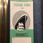 HAL: Passage Fares 1963