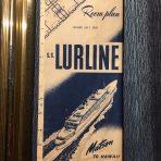 Matson: Lurline Room Plan July 1951