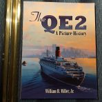 """Cunard Line: Billy Millers """"The QE2"""" a Pictorial History by Dover."""