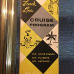 French Line: Cruise program for 54/55