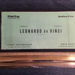 Italian Line: Leonardo Da Vinci Green Deck plan