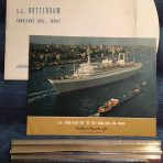 HAL: SS Rotterdam Prime Brochure in Dutch