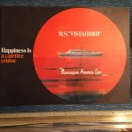 "NAL: Vistafjord ""Happiness is a carefree cruise"" Prime brochure."