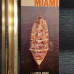 The Portuguese Line: Sunshine all the way … TV Santa Maria Booklet w/ Deck Plans.