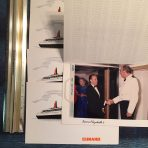 Chandris Line: To Australia on the largest one class ship fold out for SS Australis.