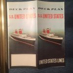 United States Lines: Ultimate All Class Full Color Plans and cutaway for the SS United States