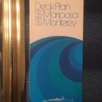 Pacific Far East Line: Mariposa and Monterey Deck Plans.