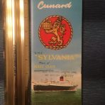 Cunard : Sylvania FC Color Deck Plans