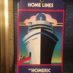 Home Lines: Homeric Baggage Tag