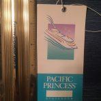 Princess Cruises: Pacific Princess Baggage Tag