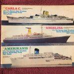 Costa Line: Choose Italian, Choose Costa 3 ship brochure 77/78