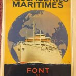 Messageries Maritimes: Reproduction Agency poster