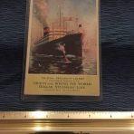 Dollar Lines : President Liners Postcard