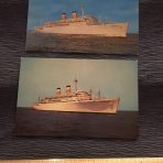 American Export: 2 Independence Postcards