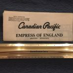 Canadian Pacific:  Empress Of England Tissue Plan