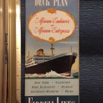 Farrell Lines: African Endeavor and Enterprise Deck Plans and Interiors Brochure