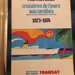 French Line: MS Victoria 73-74 charter season brochure