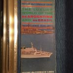 Moore McCormack Lines: The Luxury World of the Ss Argentina and SS Brasil Brochure-Deck plan