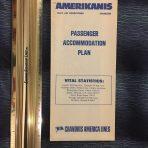 Chandris: Amerikanis Blue detailed deck plan