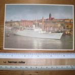 Swedish American Line: SS Stockholm Postcard