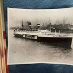 United States Lines:  SS Manhattan 8×10