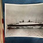 United States Lines:  SS Washington 8×10 at speed