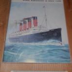 Cunard Line: Mauritania paper model