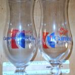 Carnival Curises: 2 daquiri glasses.