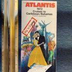 Chandris: SS Atlantis 1972 Cruises to Caribbean-Bahamas folder fly n cruises