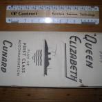 Cunard Line: 1952 QE1 FC deckplan MM17