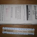 Cunard Line: QE 1946 FC deckplan MM17