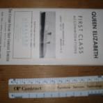 Cunard Line: QE Deckplan for 1950 FC MM17