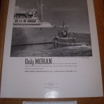 Furness Bermuda lines: Moran Towing poster showing the QOB.