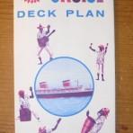 United States Lines: SS United States Miniture Cruise Plan restocked !