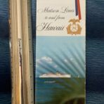 Matson: SS Lurline Accommodation plans and Interiors  booklet brochure
